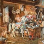 Attic, Carousel Horses